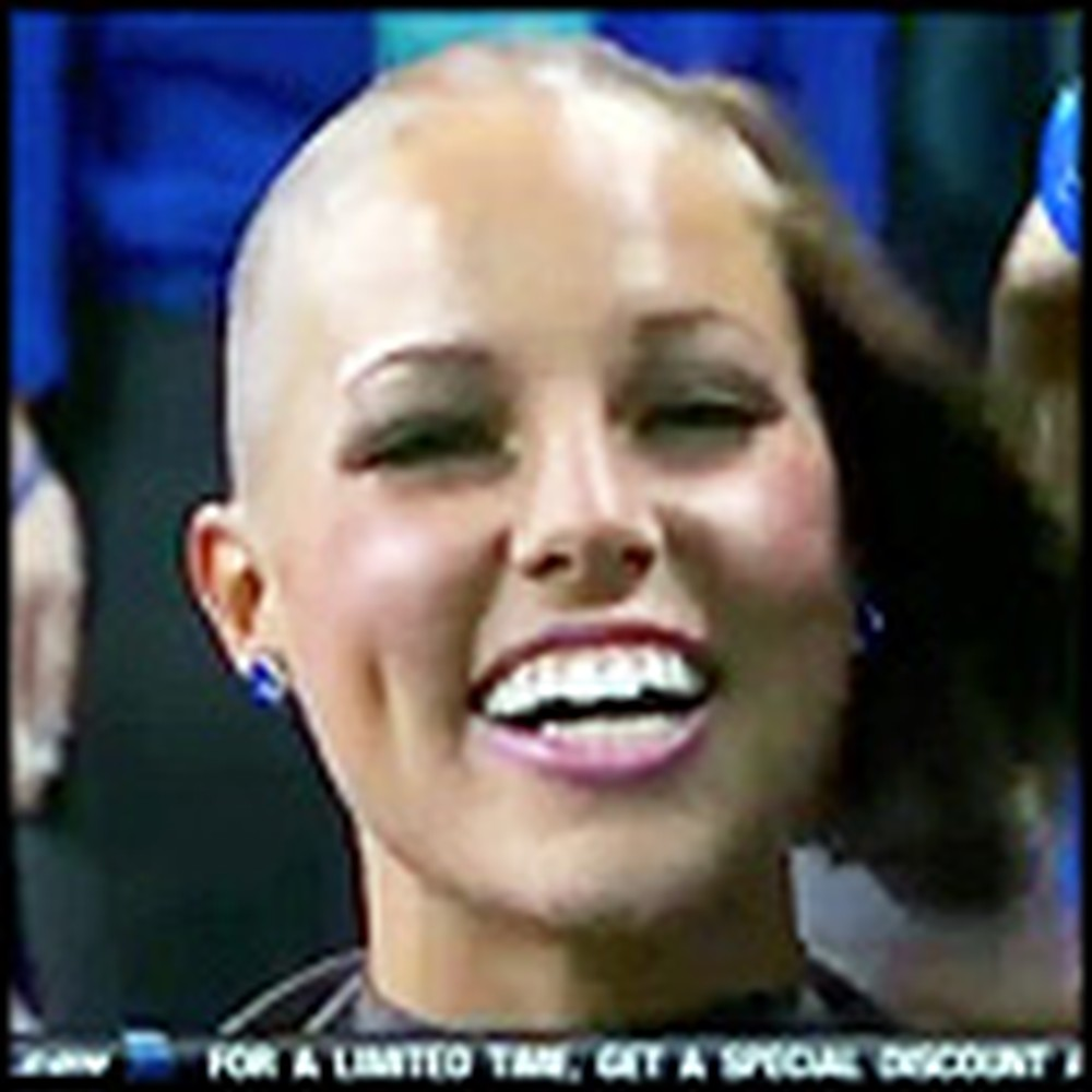 NFL Cheerleaders Shave Their Heads to Support Cancer-Stricken Coach