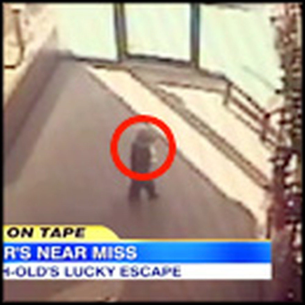 Toddler Unbelievably Escapes Death by Seconds