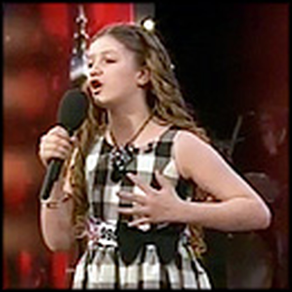 10 Year Old Schoolgirl Brings the Audience to Tears with her Incredible Voice
