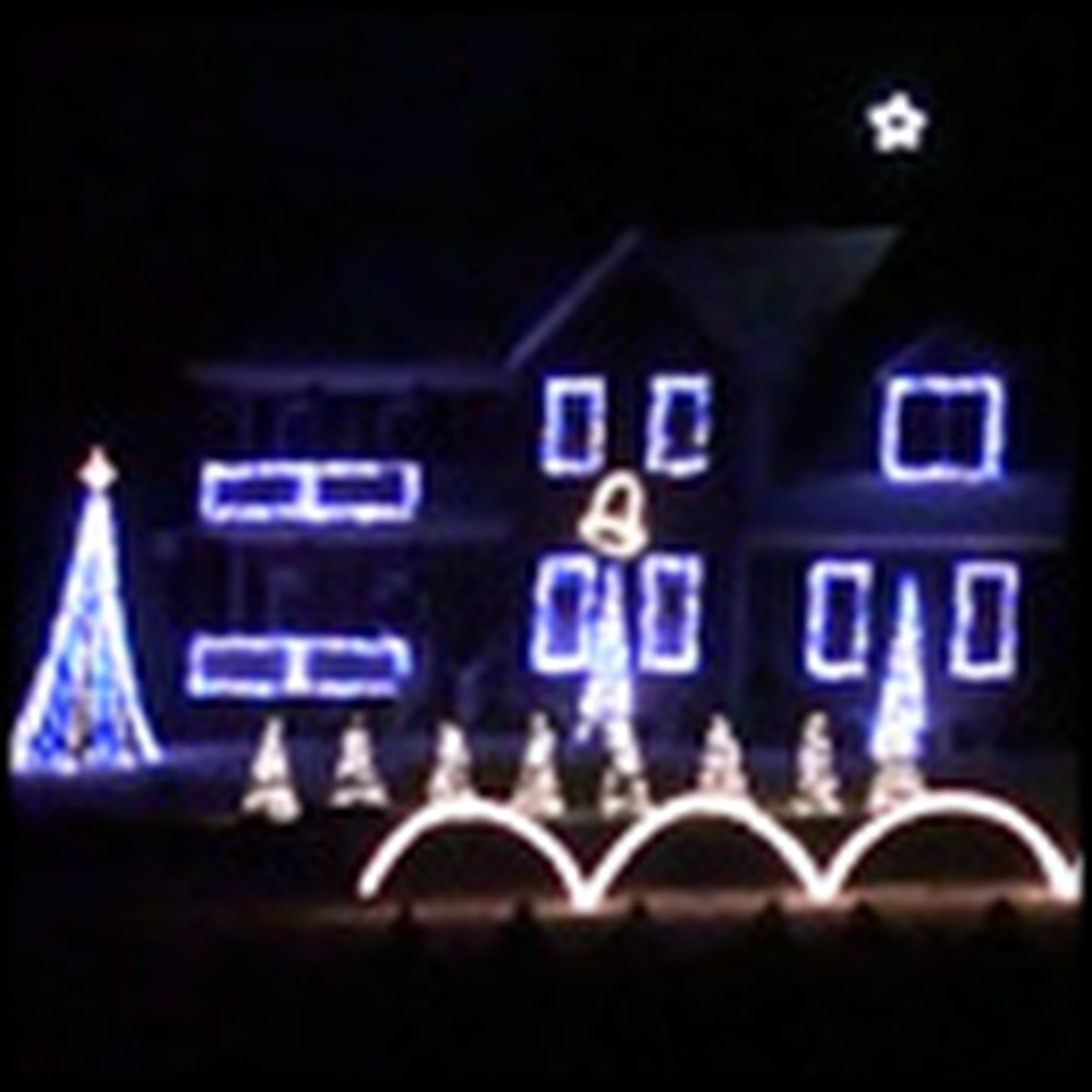 A Soldier's Silent Night - a Moving Tribute Set to an Amazing Light Display