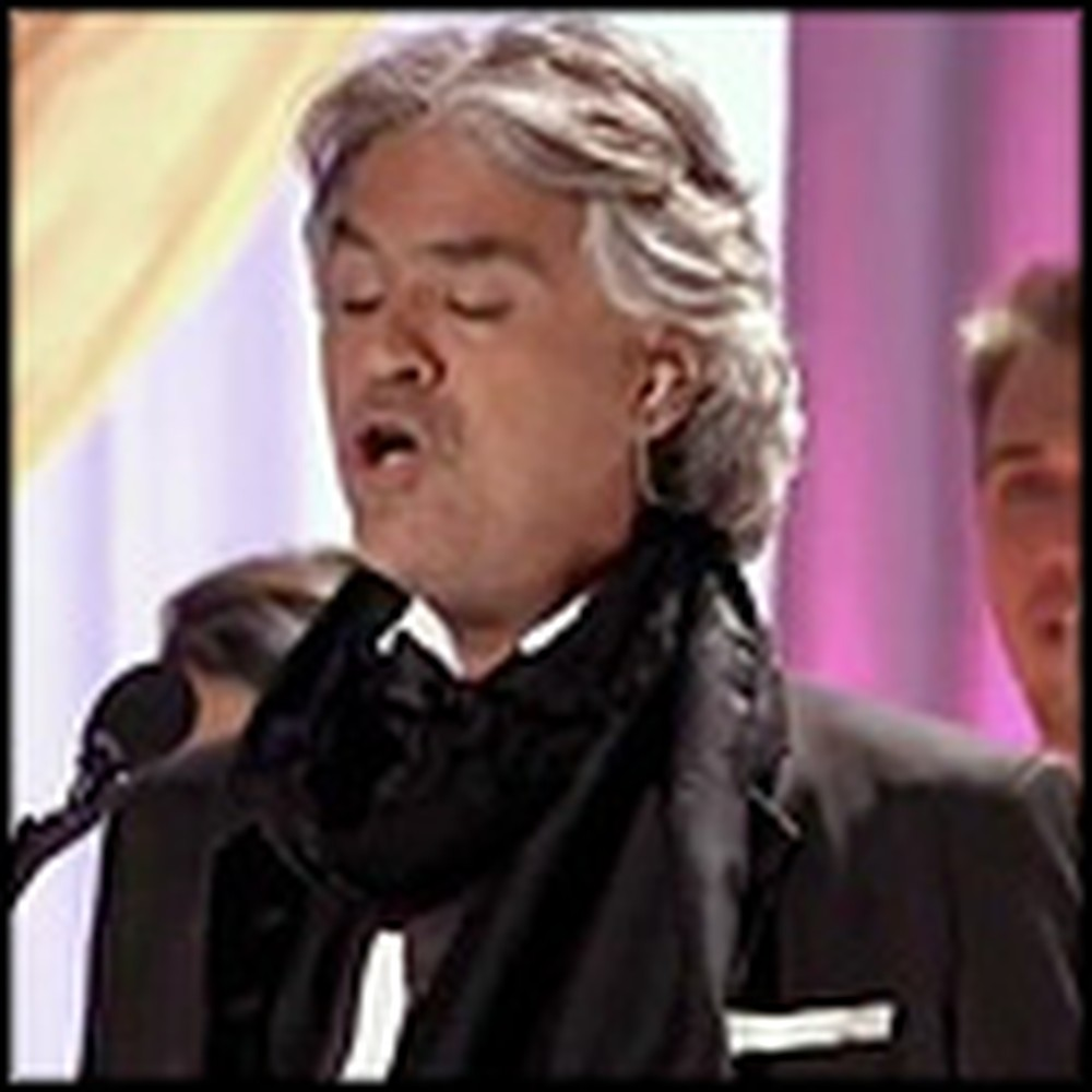 Andrea Bocelli Performs a Jaw Dropping Version of Adeste Fideles