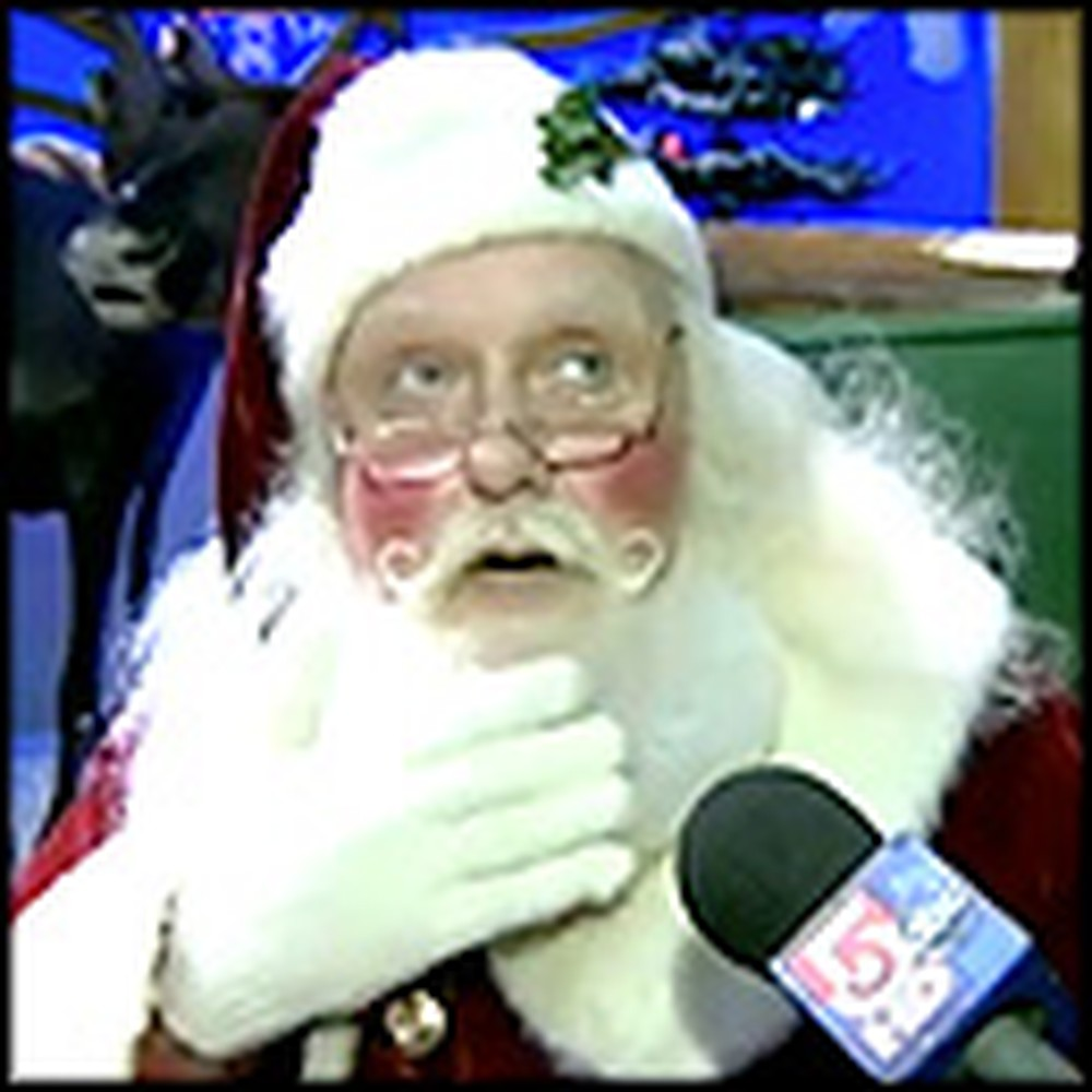 Santa Gives a Little Deaf Boy the Sweetest Surprise