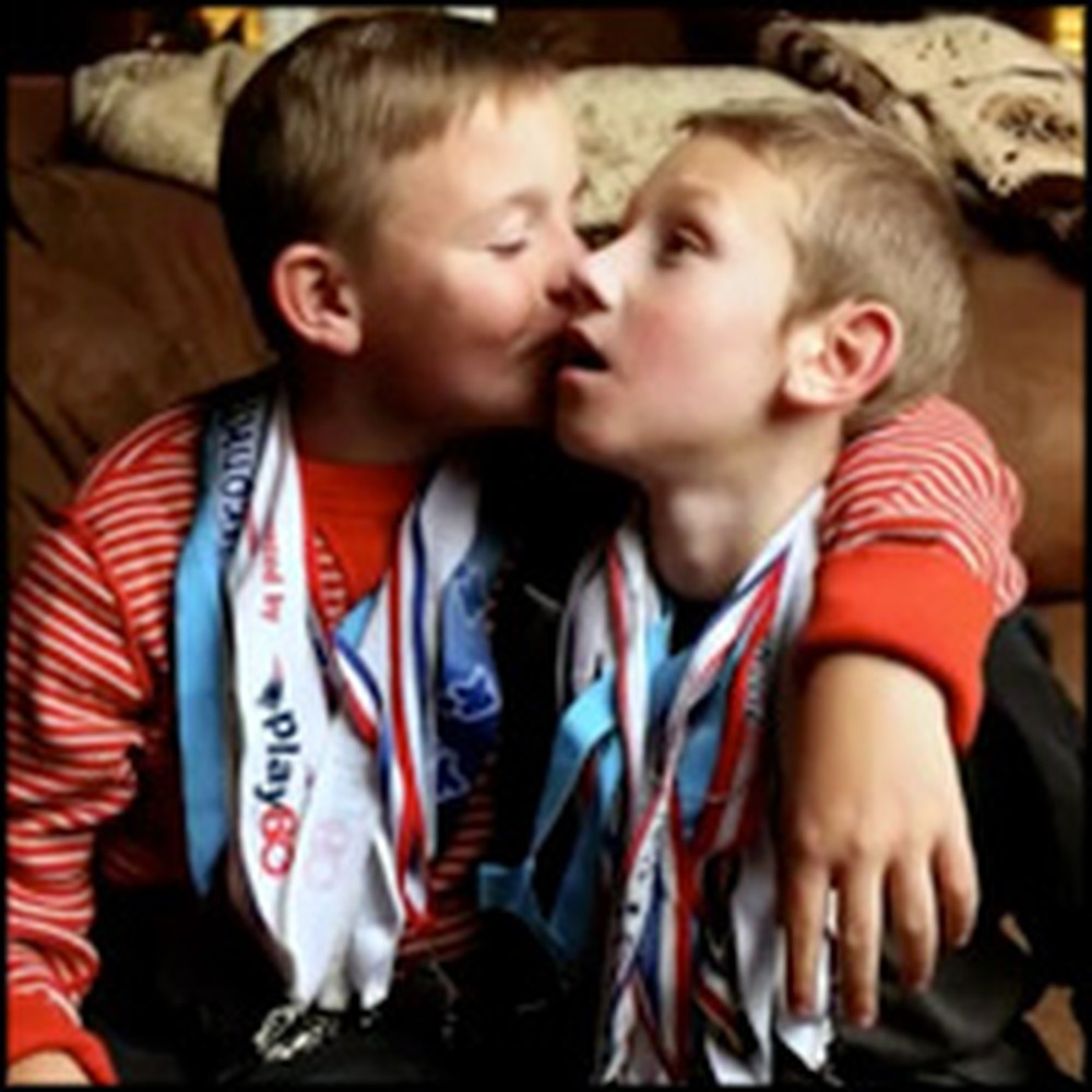 Boy's Loyalty to Brother with Cerebral Palsy Will Astonish You