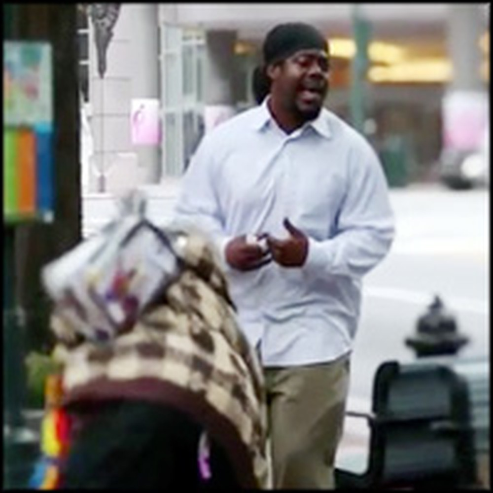 Formerly Homeless Street Performer Wows Judges With Audition