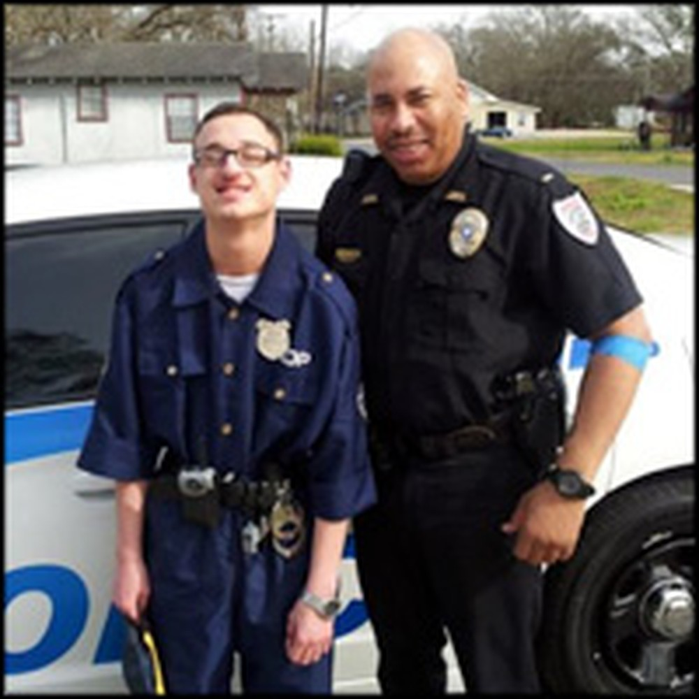 Local Police Give a Teen with Autism an Amazing Day