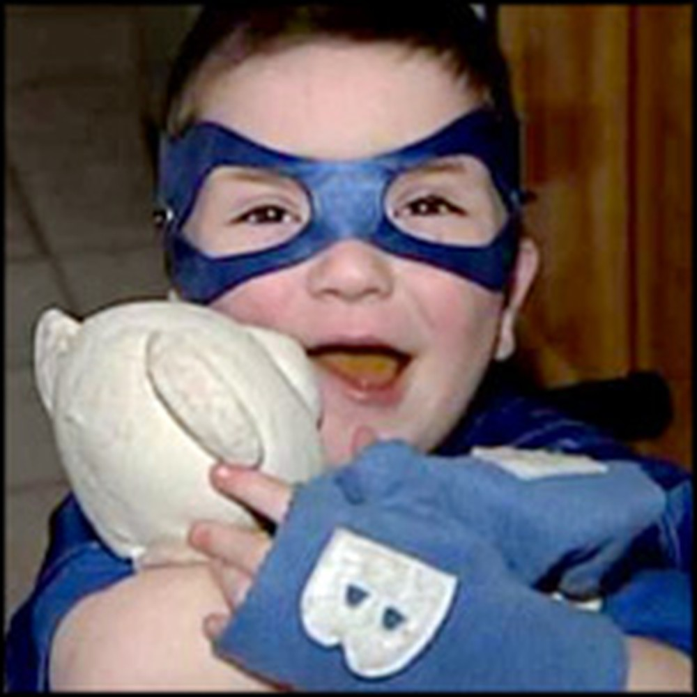 Brave Little Boy is the Inspiration for a Deaf Superhero