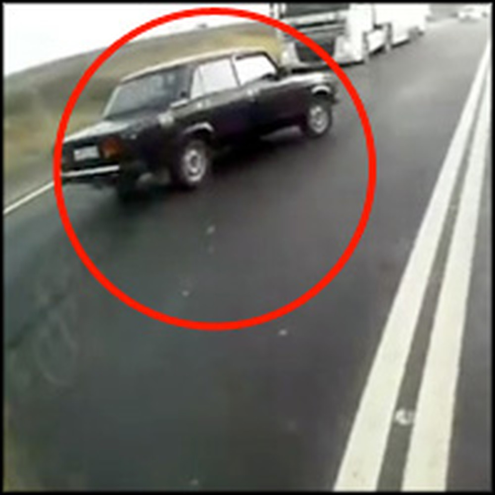 One Man Walks Away From a Horrifying Car Crash - a Miracle of God