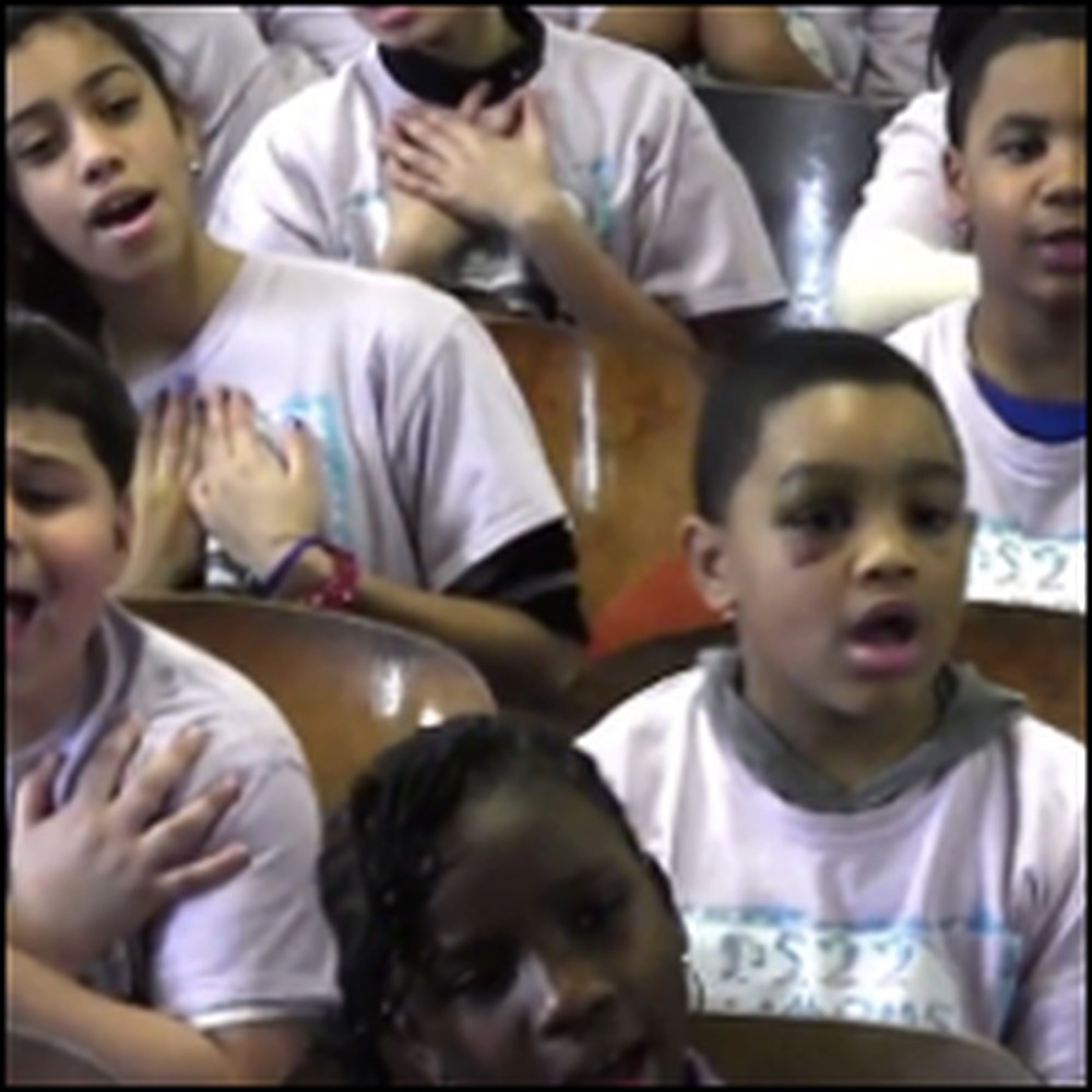 Inner City Children's Choir Sing a Moving Christian Song