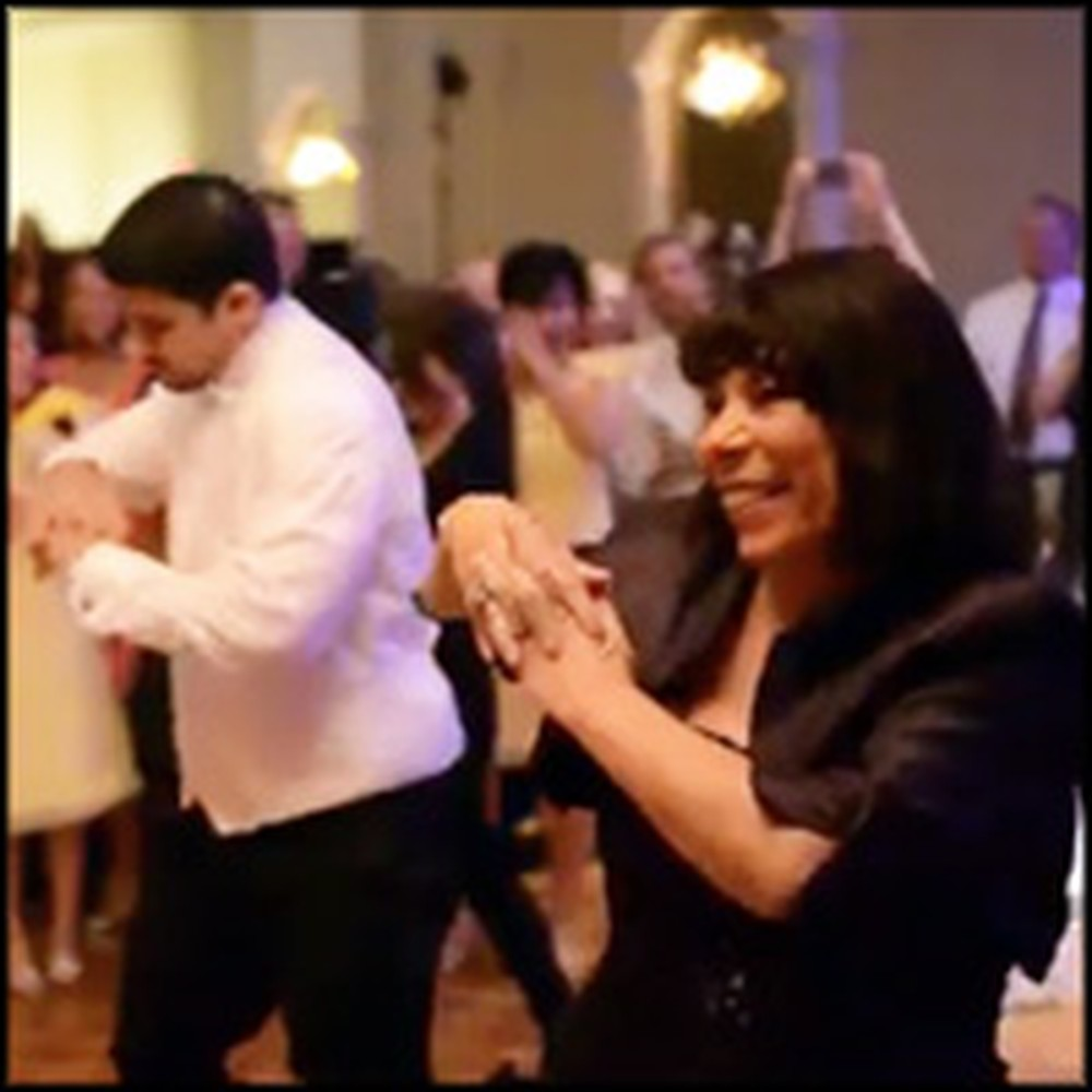 Mother and Son Have the Best Surprise During Their Reception Dance