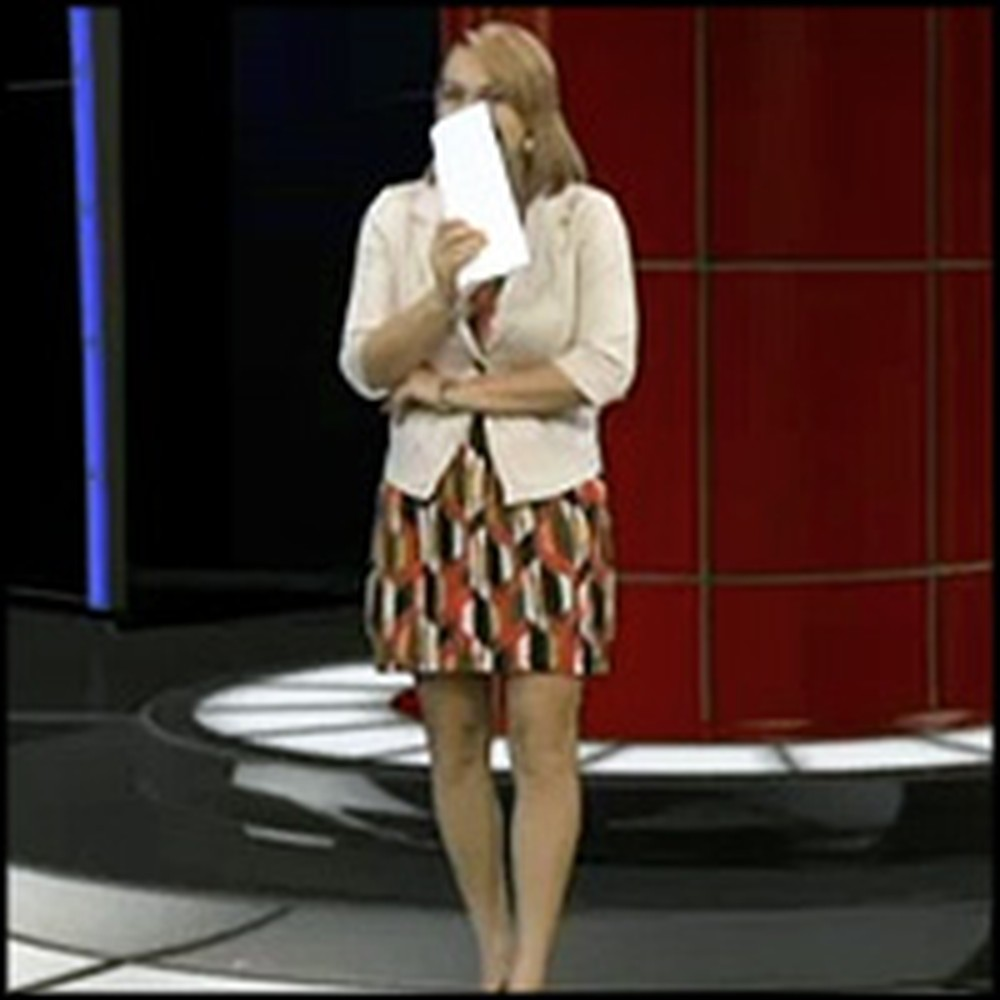 News Anchor is Tricked Into Reading Her Own Proposal on the Air