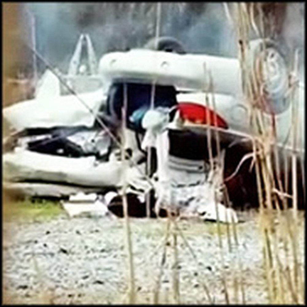 Witnesses Saw Angels Pull People Out of a Horrific Car Crash