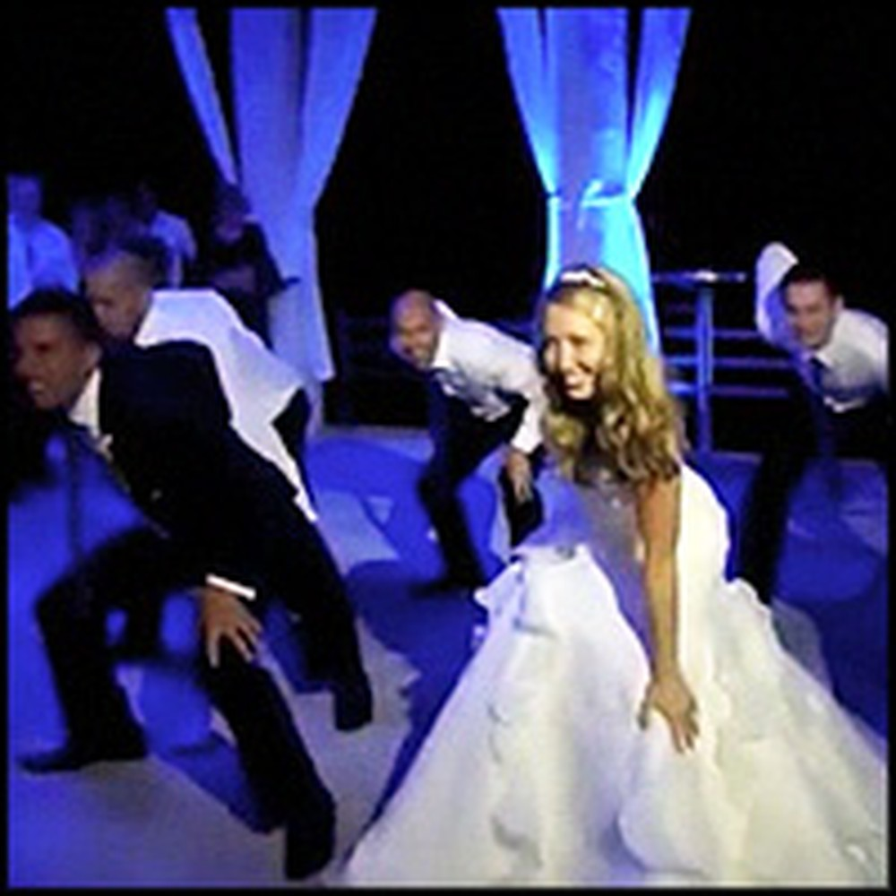 Bride and Groom's Epic Surprise Thriller Dance