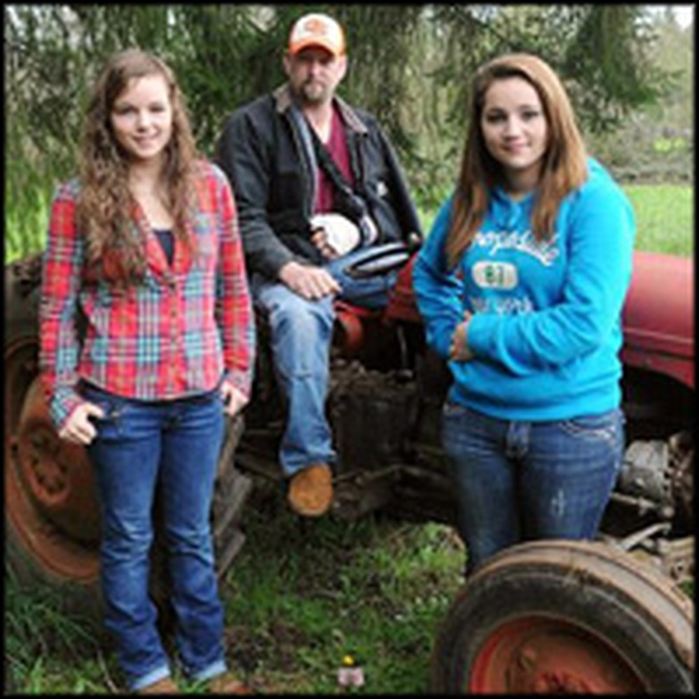 Two Teenage Girls Lift a 3,000 Pound Tractor Off of Their Trapped Father