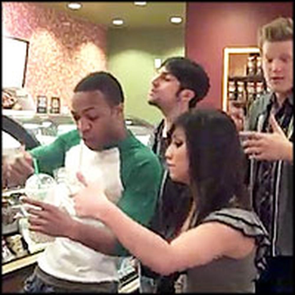 Greatest Starbucks Order Ever Caught on Tape