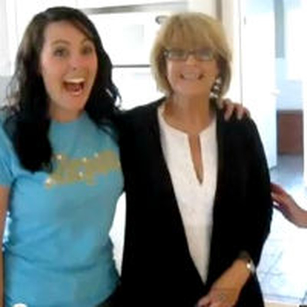 Mom and Sister Posing For a Photo Get a Pregnancy Surprise