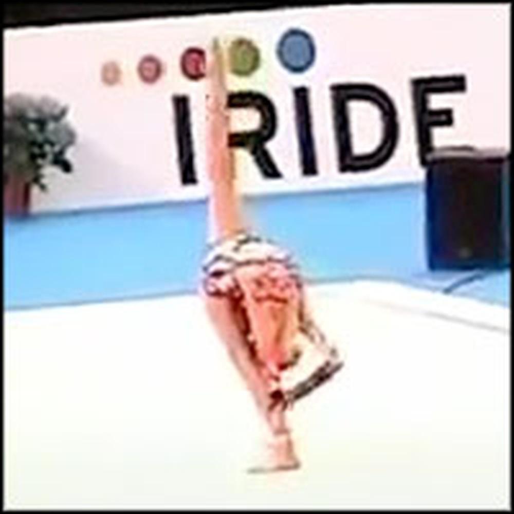 Amazing Rhythmic Gymnastics Routine is Jaw-Dropping