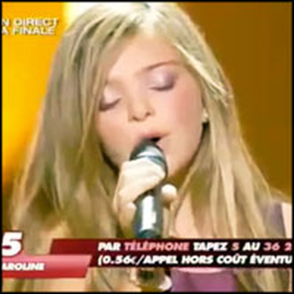 Little French Girl Stuns an Audience with Her Voice