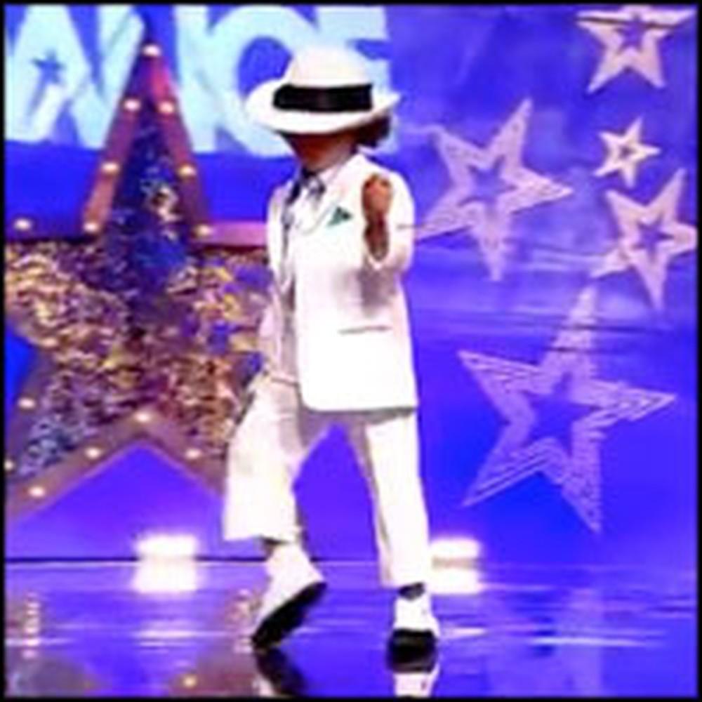 Talented Child Dancer is Like a Mini Michael Jackson