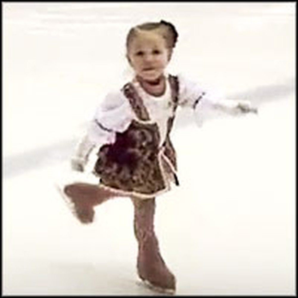 2 Year-Old Girl is an Incredible Skater