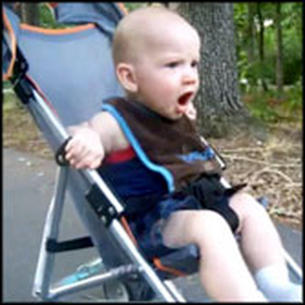Baby Boy Has a Hilarious Reaction to Fireworks