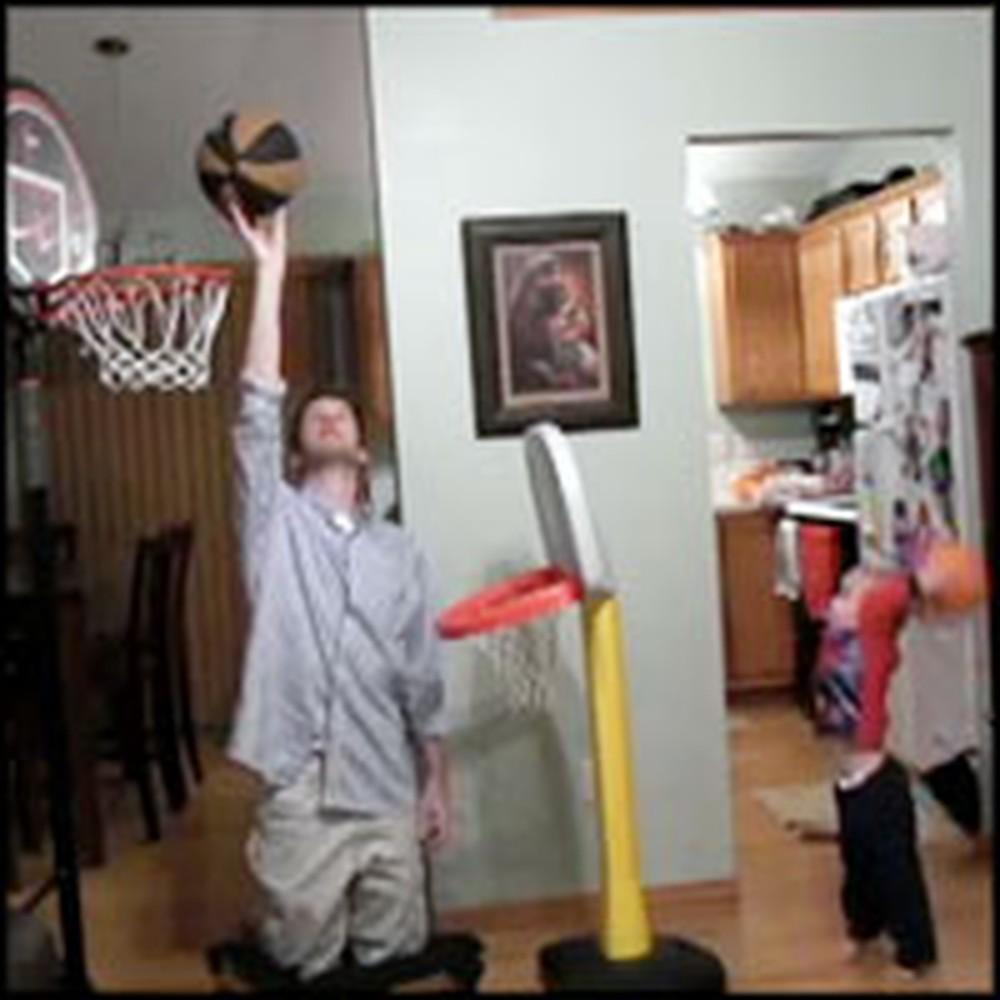 Talented Tot Performs Unbelieve Trick Shots
