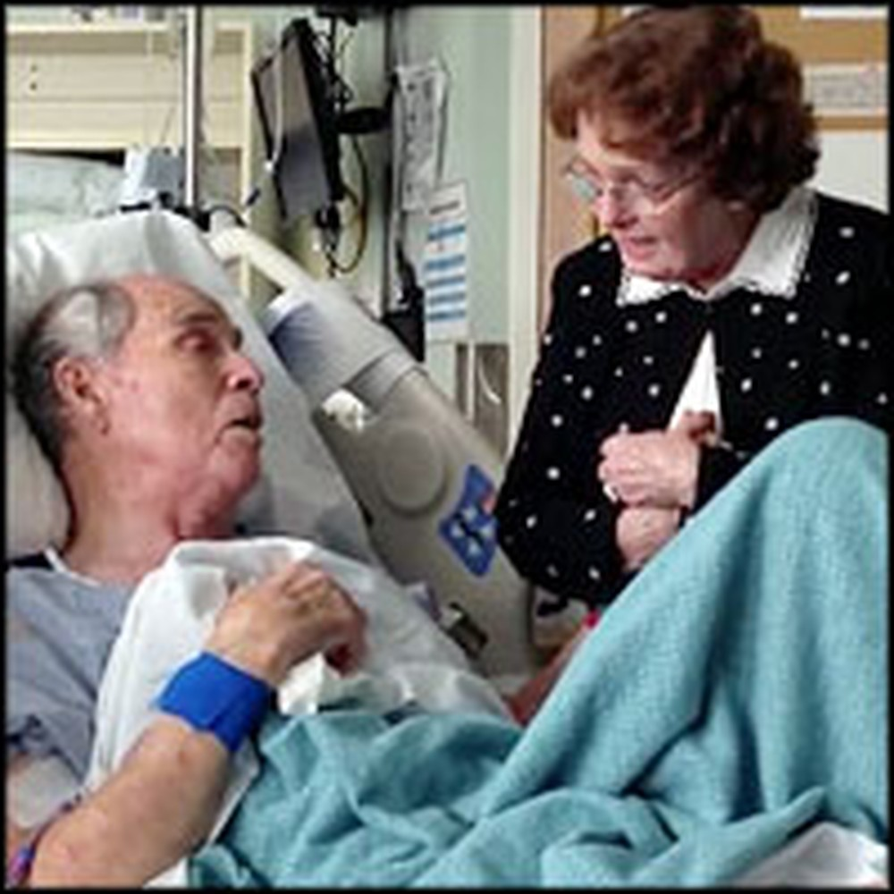 Wife Comforts Seriously Ill Husband of 66 Years by Singing You Are My Sunshine
