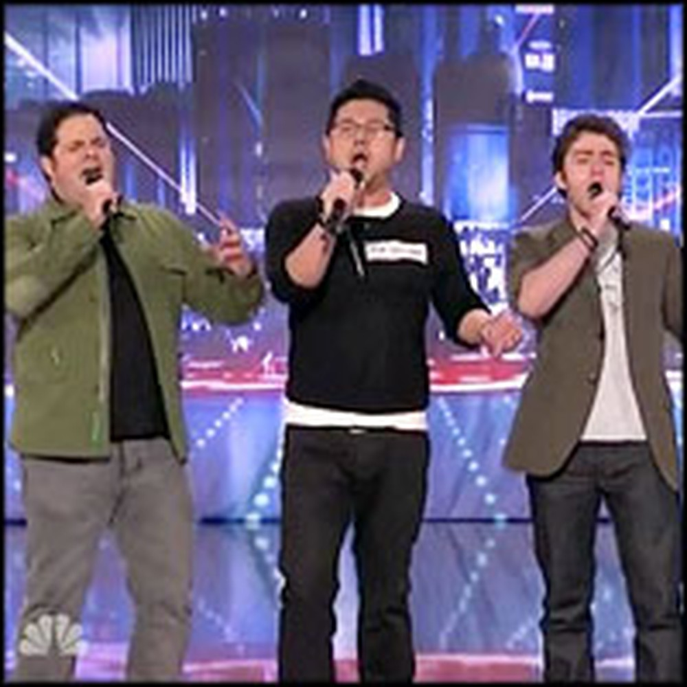 3 Young Strangers Recently Met Online - And When They Sing It Sounds Like Heaven!