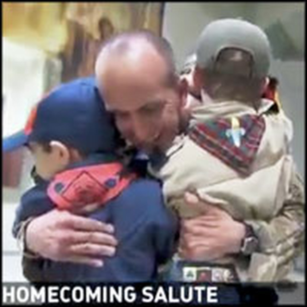 3 Adorable Boy Scout Brothers Get a Terrific Surprise