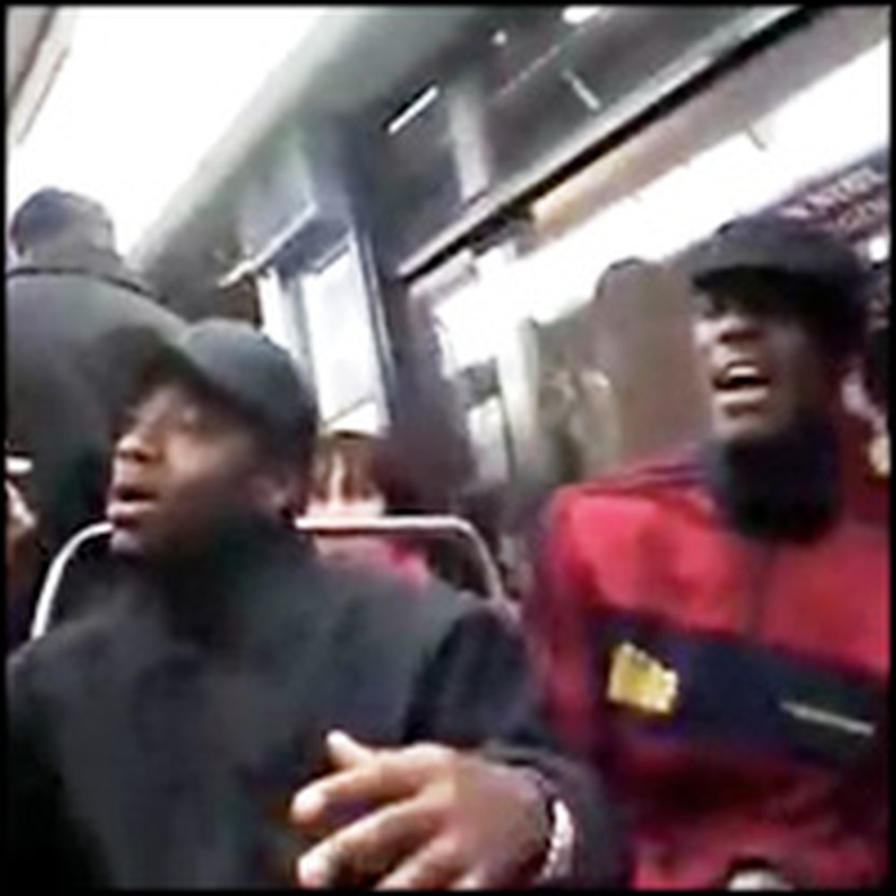 Gospel Singers Stun Subway Travelers With an A Capella Performance