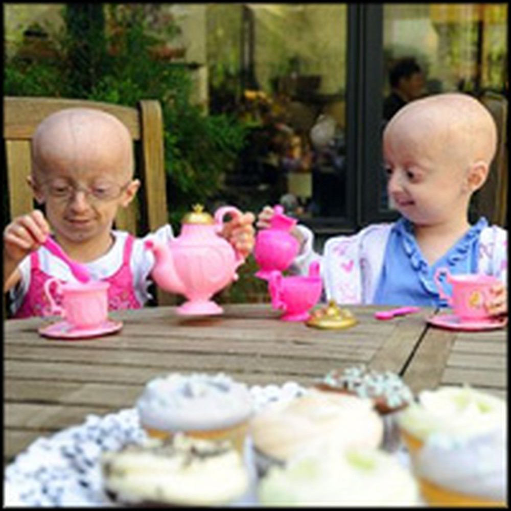 2 Little Girls with Rapid Aging Disease Get a Miracle