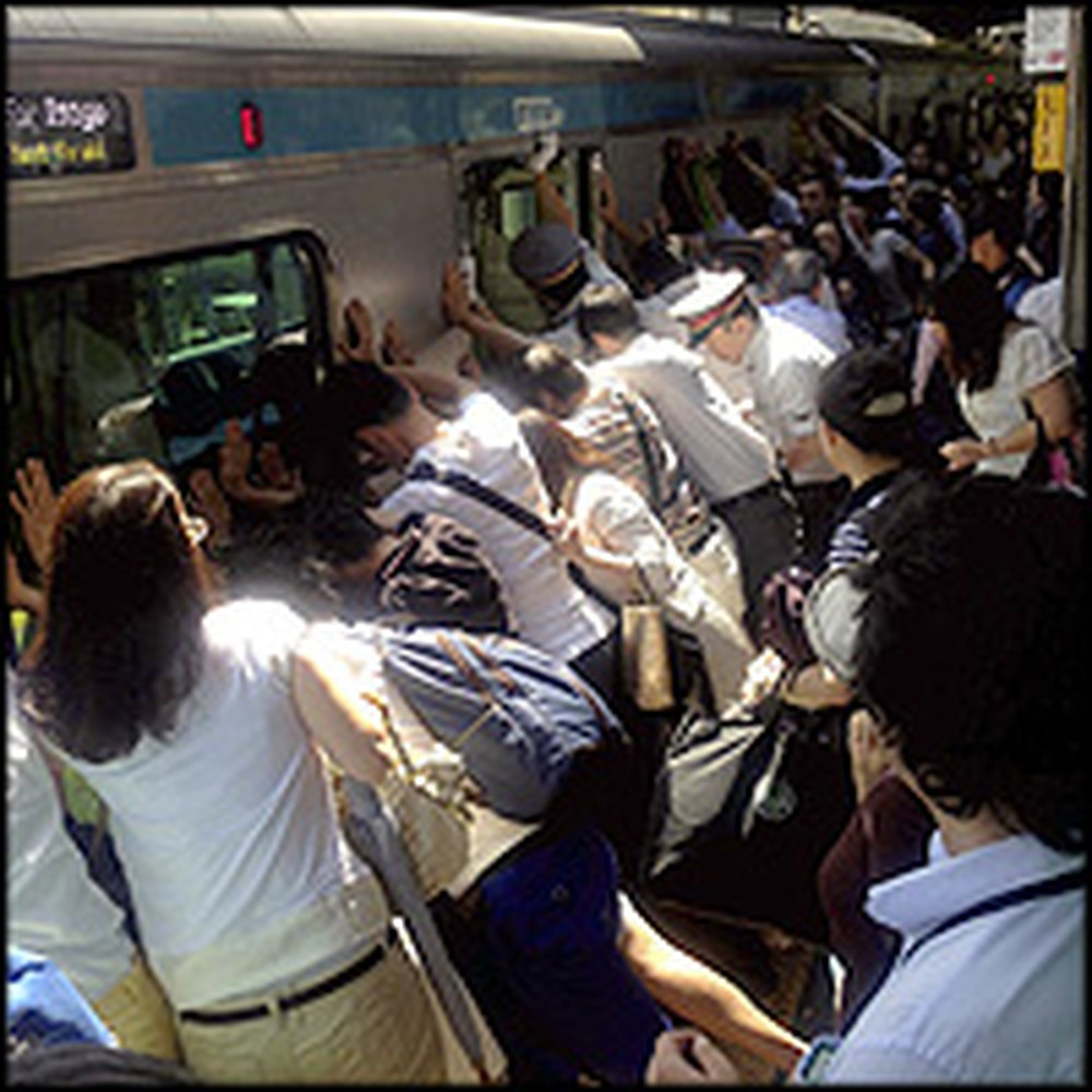 Passengers Miraculously Lift Train Off of Trapped Woman
