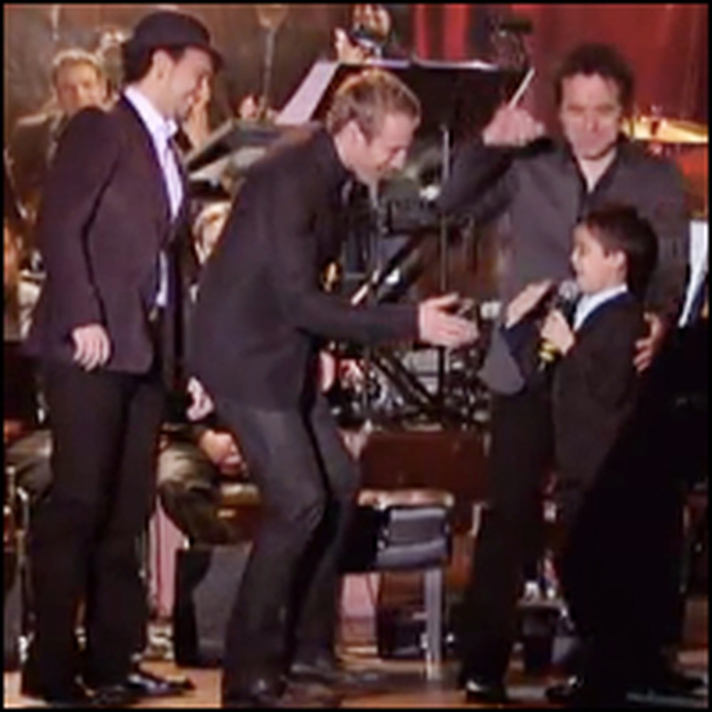 Child Piano Prodigy & The Canadian Tenors Perform