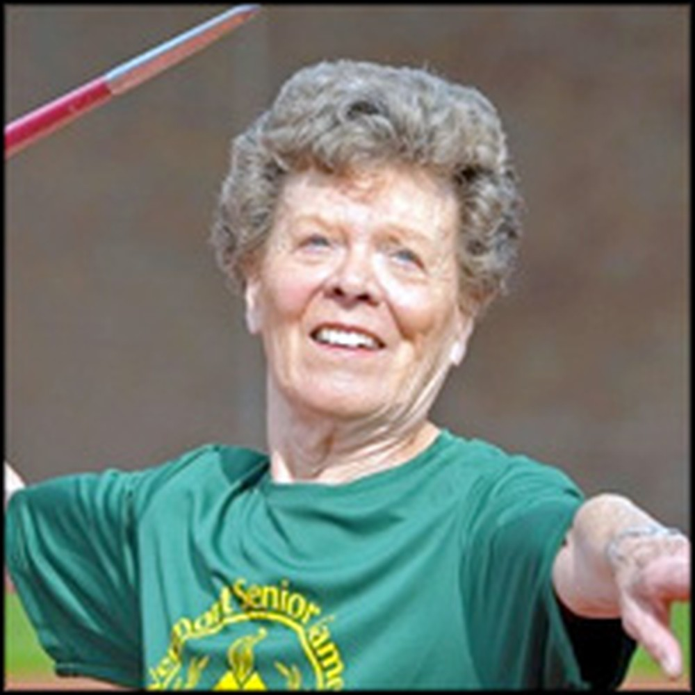Pole-Vaulting Granny Proves It's Never Too Late for You