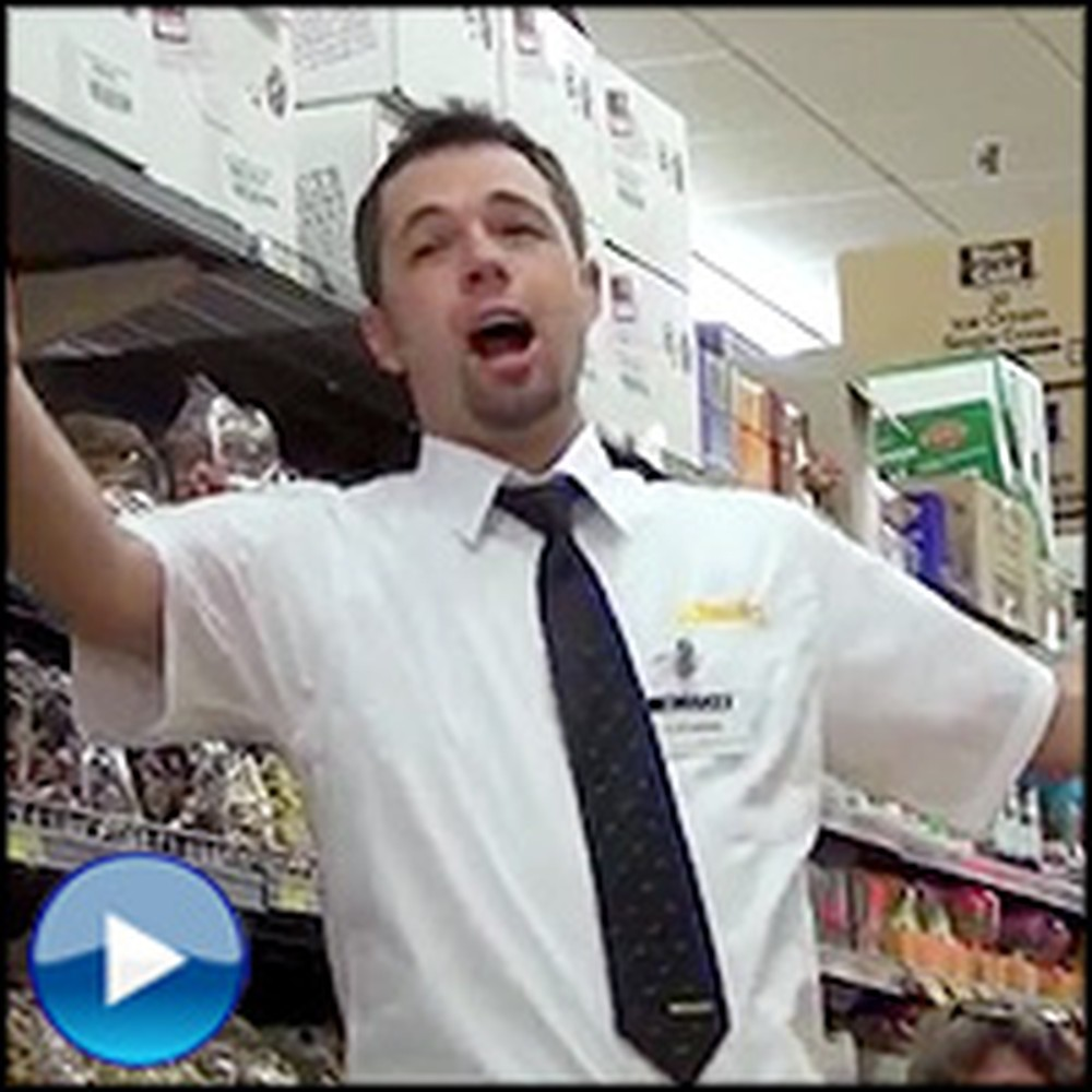 Grocery Store Employees Surprise Shoppers With an Opera Flashmob