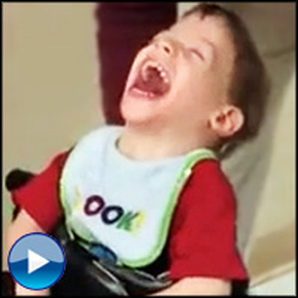 Disabled 4 Year-Old Walks for the First Time and is Filled With Amazing Joy