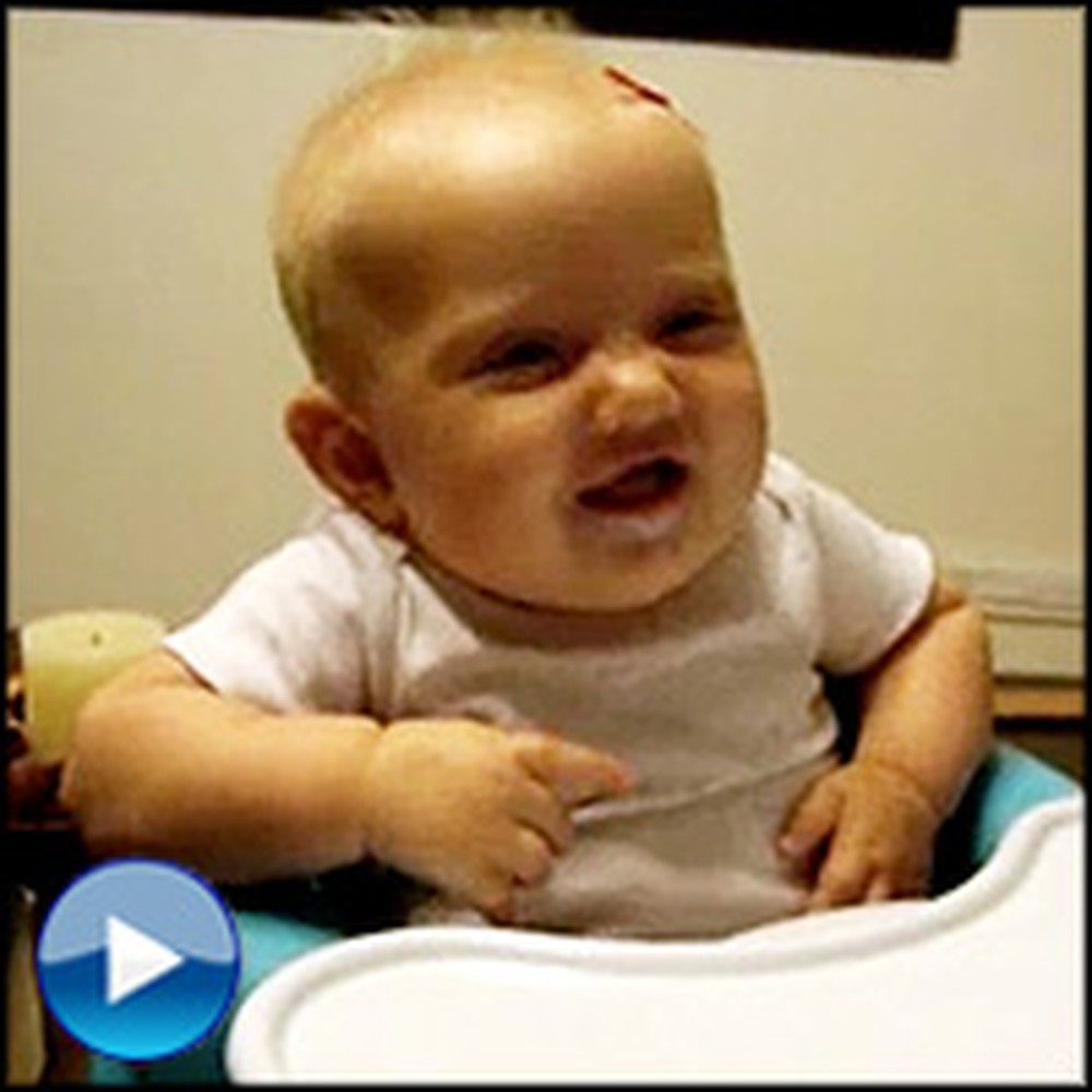 See Why This Happy Baby Can't Stop Laughing =)