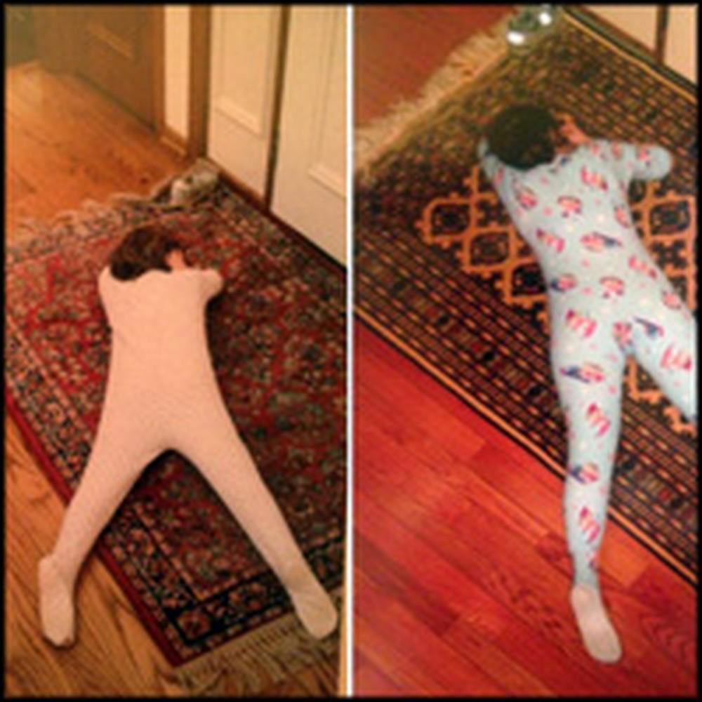 3 Grown Children Make a Cute & Hilarious Photo Album for Their Mom