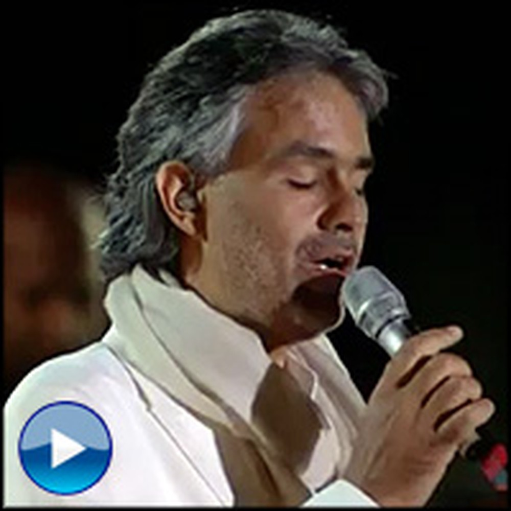 Andrea Bocelli's Angelic Performance is So Inspiring