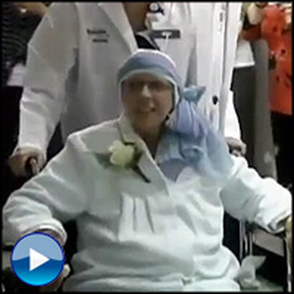 Dying Mother's Final Wish is Granted in the Hospital - So Touching