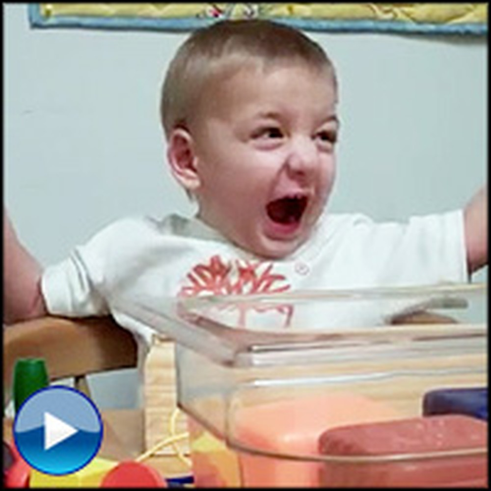 This Little Boy Receives a Miracle Before Your Eyes - His Reaction is Priceless