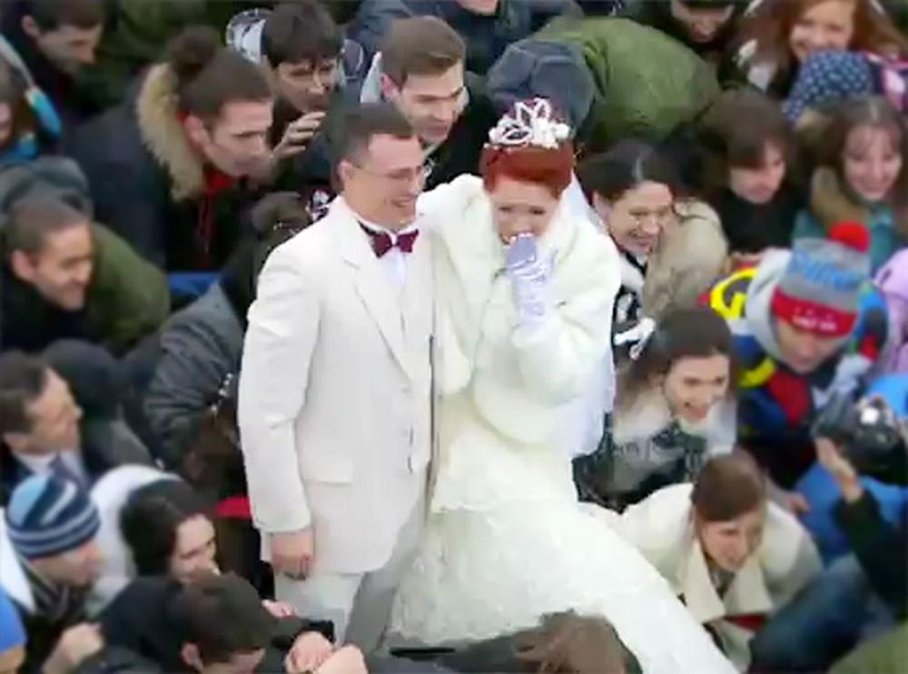Bride and Groom Do Something Unbelievable on Their Wedding Day