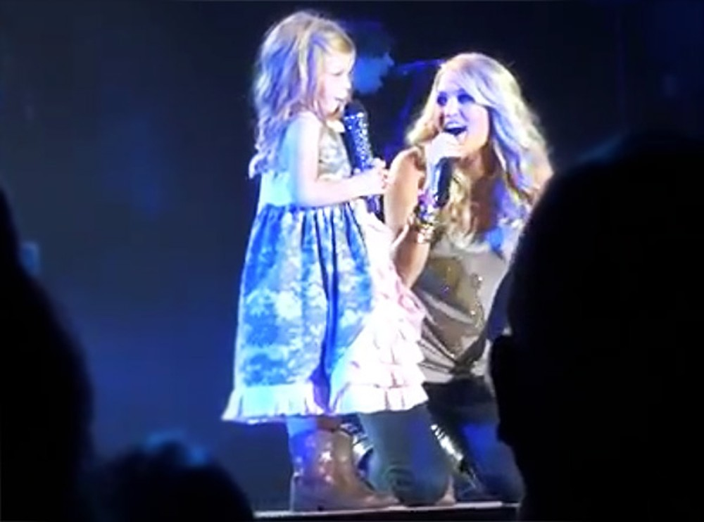 Carrie Underwood Pulls a Little Girl Onstage - and Makes Her Dreams Come True!