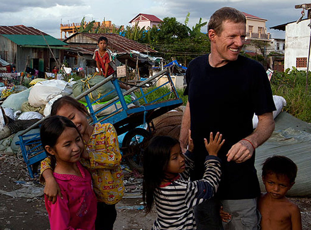Hollywood Executive Gives Up Fame to Help Third World Children in Need