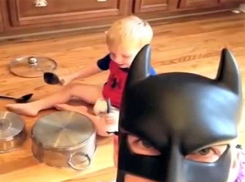 Every Kid Would Love to Have This Hilarious Superhero Father - Batdad!