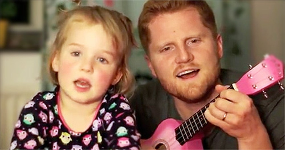 Daddy & His Little Girl Sing the Cutest Duet - Your Heart Will MELT