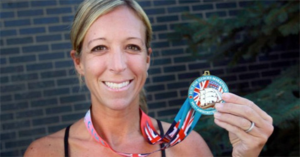 She Was Surprised by a Marathon... and Then She WON. Wow!