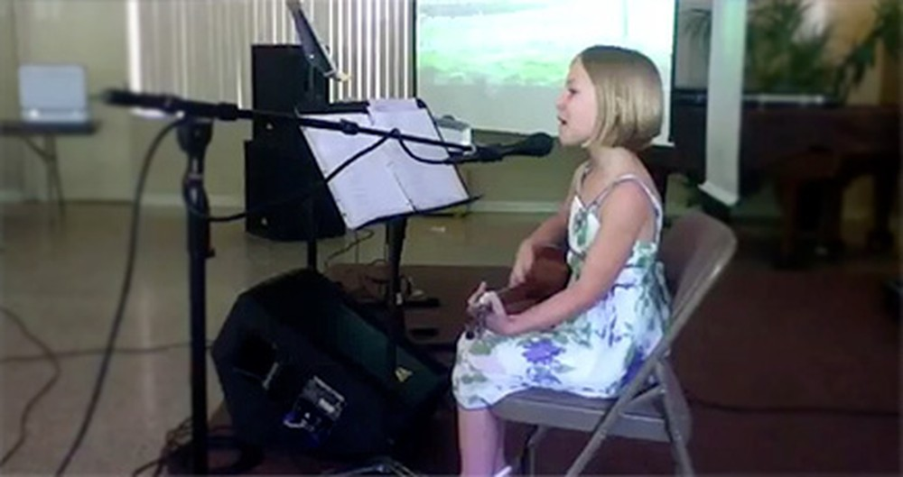 Young Girl Sings the Cutest Rendition of Christ is Risen - You'll Love This!