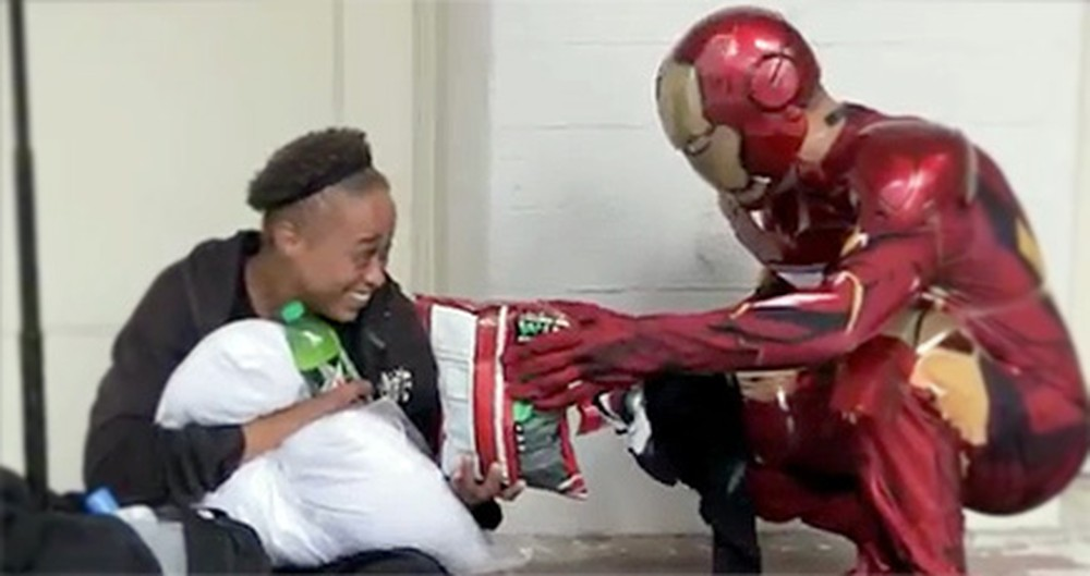 This is What a Real-Life Superhero Looks Like - Watch the Heartwarming Video