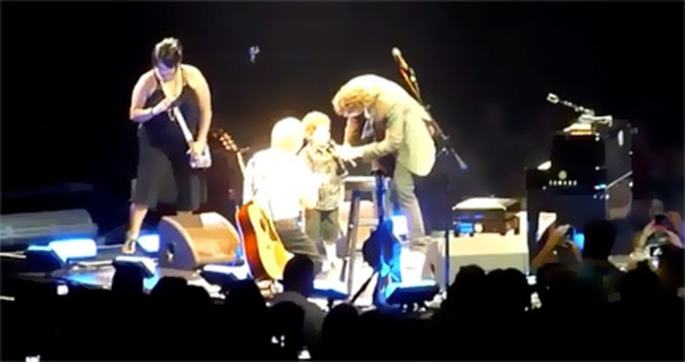 You'll Never Expect Who Josh Groban Pulls Up Onstage to Sing With Him