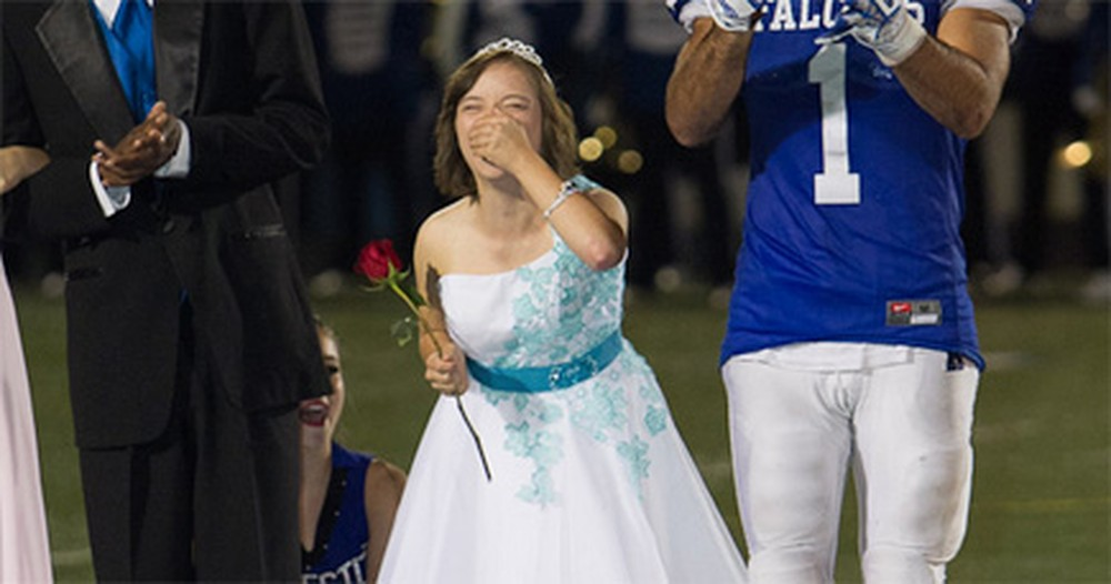 Senior With Down Syndrome Does Something Other Girls Only DREAM Of - Amazing!